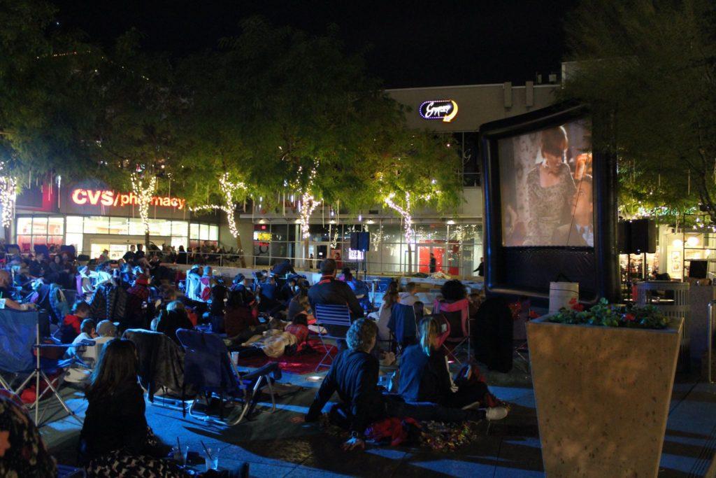 city lights movie night (june)