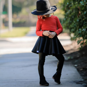 girl-in-red-dress-scottsdale
